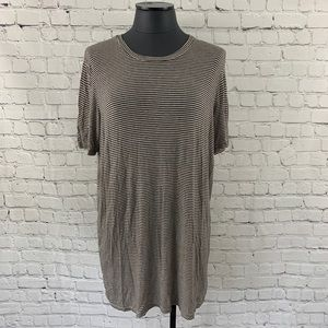 Brandy Melville Luana Striped T-Shirt Dress OS